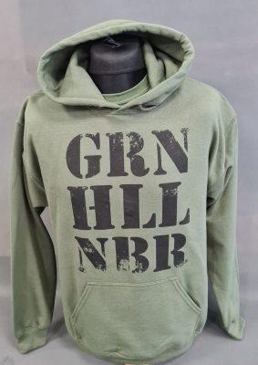 GRN_militär hoodie